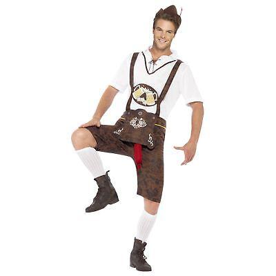 Erwachsene Herren Neuheit Brad Wurst Oktoberfest Karnevalskostüm Hirsch - Wurst Fest Kostüm