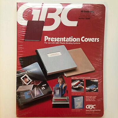 Vintage Gbc Presentation Covers New. Vintage Stationary