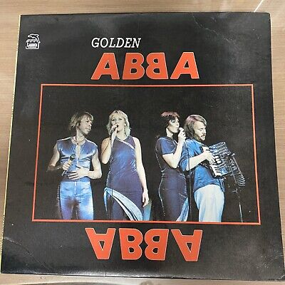 Golden ABBA Korea LP Vinyl 1991 Rare
