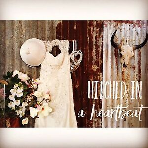 """Hitched in a Heartbeat """"Pop up"""" Wedding Package Upper Coomera Gold Coast North Preview"""