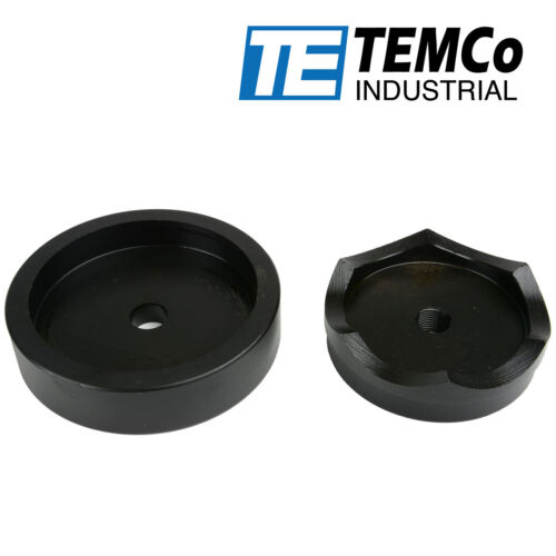 "TEMCo 4"" Conduit Punch and Die For Hydraulic Knock Out Driver 3/4""-16 Thread"