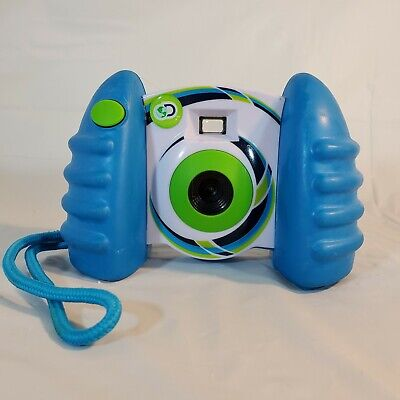 Discovery Kids Digital Photo Video Camera Blue Green USB Compatible w/Batteries for sale  Shipping to India