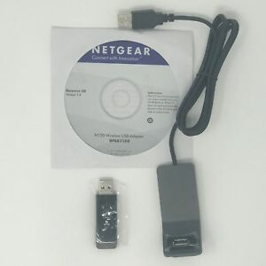 Netgear WNA1100 N150 Wireless Adapter IEEE 802.11b/g/n USB 2.0 Up to 150M