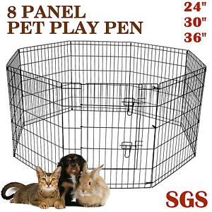 New Play Exercise Pen Enclosure Small, Dog Puppy Rabbit Cage Richlands Brisbane South West Preview