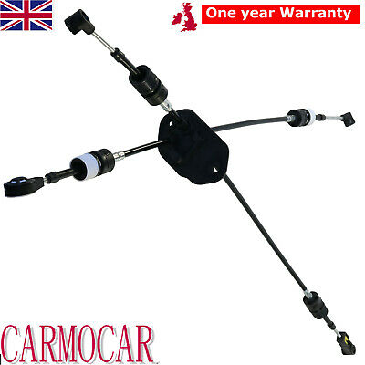 Gear Selector Cable 5 Speed Diesel Set For 2006-ON Ford Transit Mk7 2.2 2.4L RWD