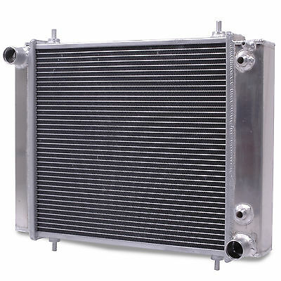 50mm ALUMINIUM TWIN CORE RADIATOR RAD FOR LAND ROVER DISCOVERY DEFENDER 200 TDI