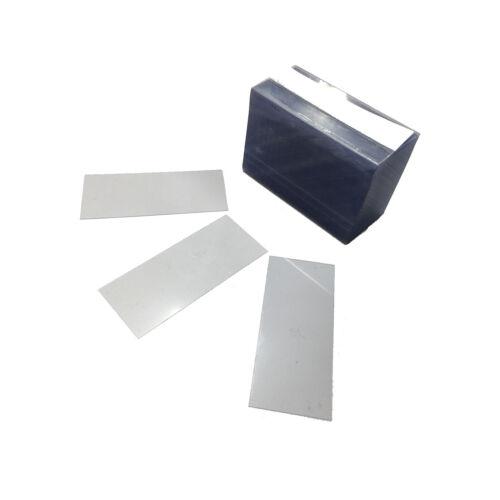 "2000 pcs Grocery Retail Liquor Pawn Clear Plastic Shelf Strips - 2.5"" x 1.25"""