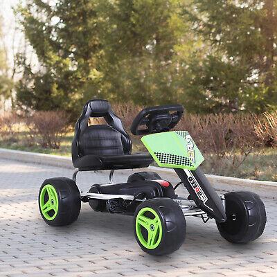 Pedal Go Karting Cart Kart Car Toy for Toddler Children Boys and Girls Green