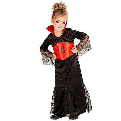 Mädchenkostüm Gräfin Dracula Kostüm Karneval Fasching Halloween Girlie (Mädchen Dracula Kostüme)