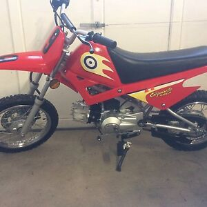 Brand new condition 90cc, 4 speed with manual clutch
