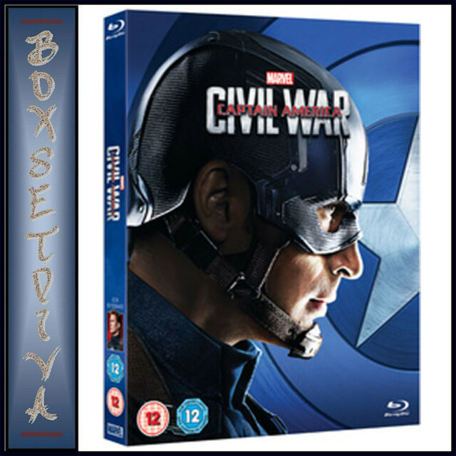 CAPTAIN AMERICA - CIVIL WAR  **BRAND NEW BLURAY**