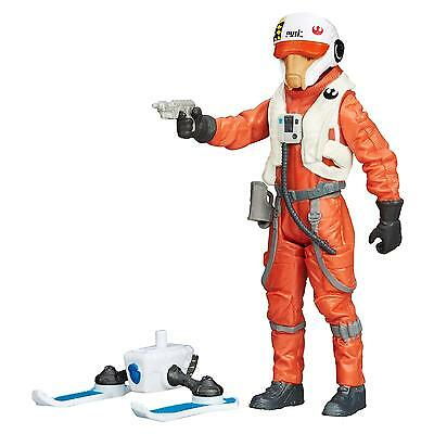 Star Wars The Force Awakens 3.75-Inch Figure Snow Mission X-Wing Pilot Asty