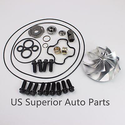94~03 Powerstroke 7.3L GTP38/TP38 Rebuild Kit Billet Compressor Wheel 13bolts