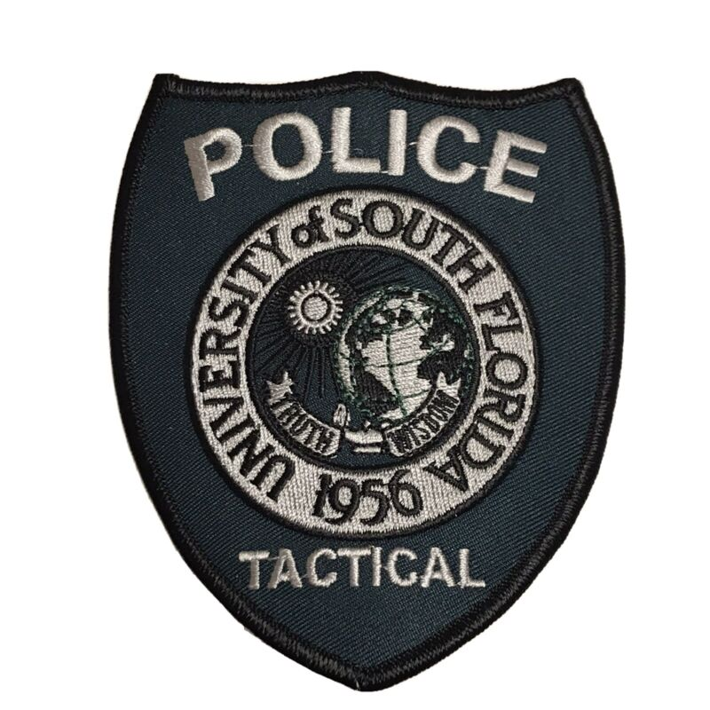 University Of South Florida Police Tactical Team SWAT Subdued University Campus