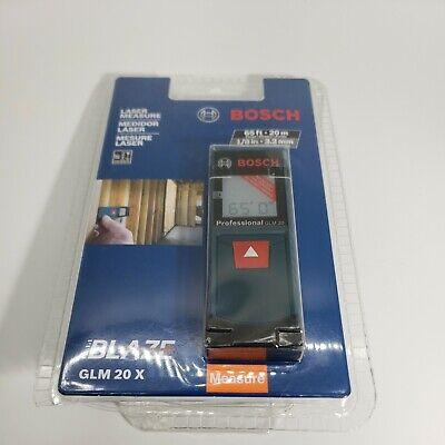 Bosch Glm20x Blaze 65 Ft. Laser Distance Measurer  New