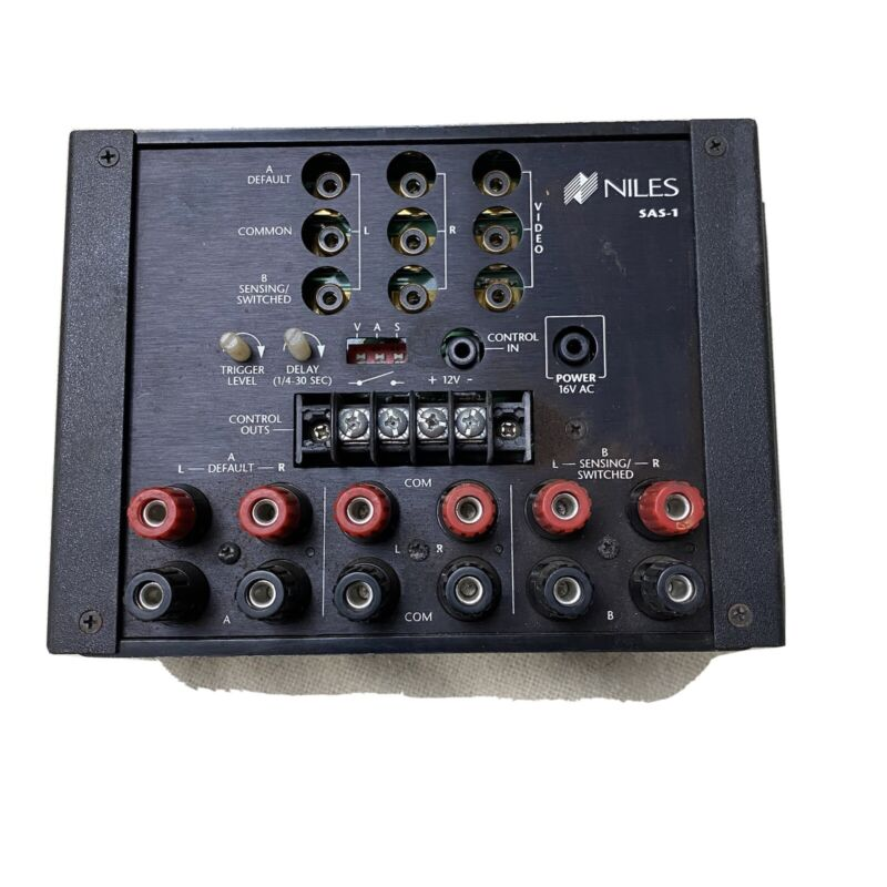 NILES SAS-1 Combination Speaker-Level A-B Switching System