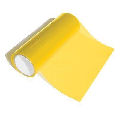 54€/m² Premium Design Tuning Folie US Look Klar Transparent Gelb 30 x 30cm