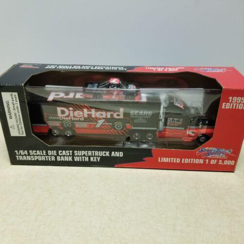 Toy Racing Champions 1995 DieHard Supertruck Transport Truck