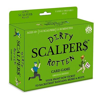 Dirty Rotten Scalpers - Best New Family-Friendly Fun Card Game (Best Fun Card Games)