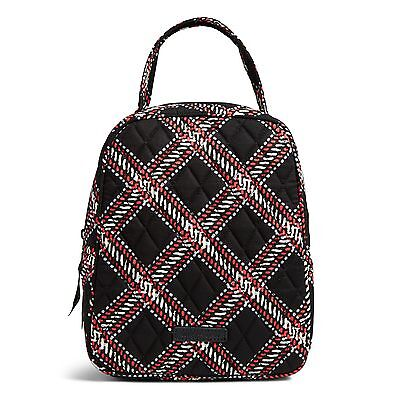 Vera Bradley Factory Exclusive Lunch Bunch Bag In Minsk Plaid