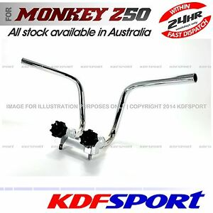 KDF HANDLEBAR HANDLE BAR BIKE PARTS FOR HONDA Z50 Z50J MONKEY DAX CT70 Z50R 50