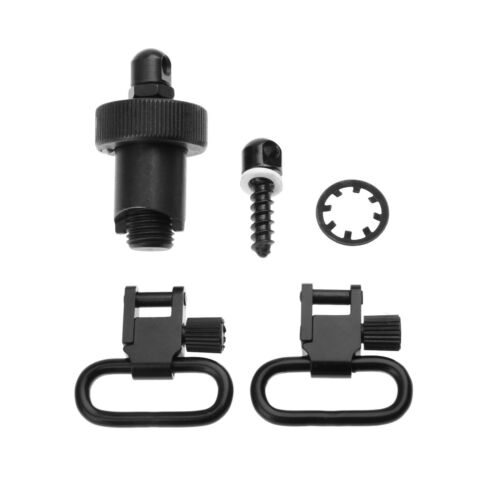 """MOSSBERG RIFLE QUICK RELEASE SLING SWIVEL SET 1/"""" ***MADE IN U.S.A.***"""