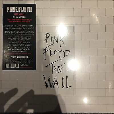 PINK FLOYD THE WALL REMASTERED 2 X LP VINYL ALBUM - 2016 REISSUE -  NEW & SEALED