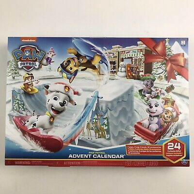 Paw Patrol Advent Calendar 24 Little Exclusive Gifts