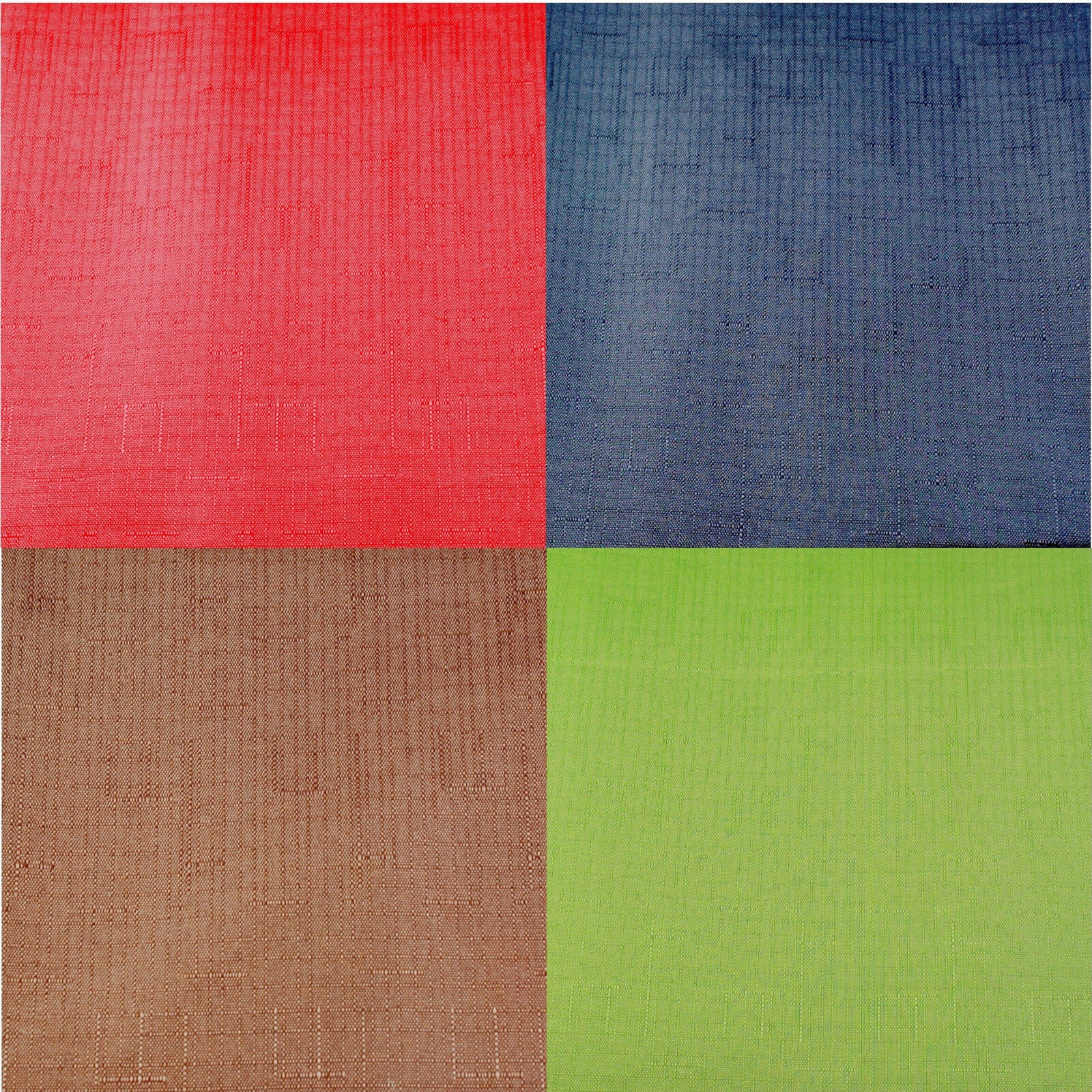 """Assorted Colors Solid Pattern Fabric Tablecloth 52"""" x 70"""""""