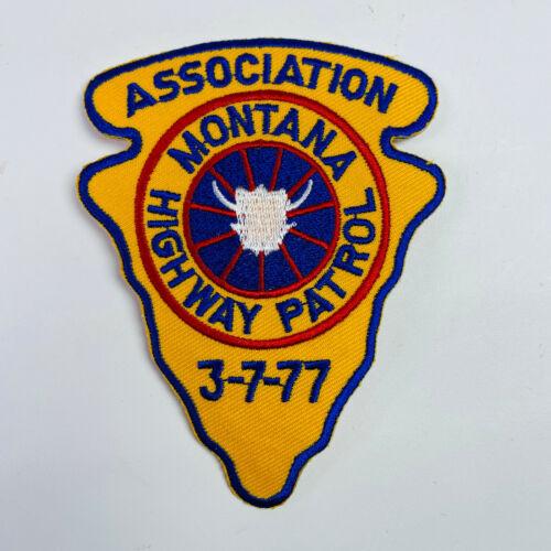 Montana Highway Patrol Association Patch
