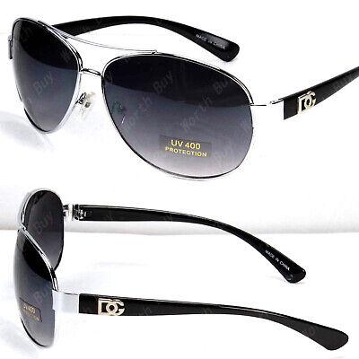 Mens Womens Eyewear Pilot Sunglasses Fashion Designer Round Shades Retro (Mens Round Designer Sunglasses)
