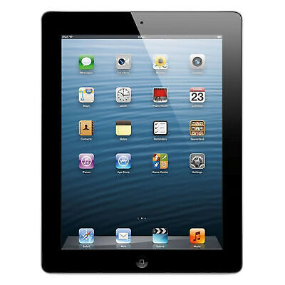 Apple iPad (4th Generation) 64GB Wi-Fi Capable Tablet - Black (Dents/Scratches)