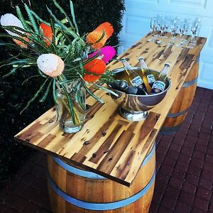 Wine barrel bar for hire Woodvale Joondalup Area Preview