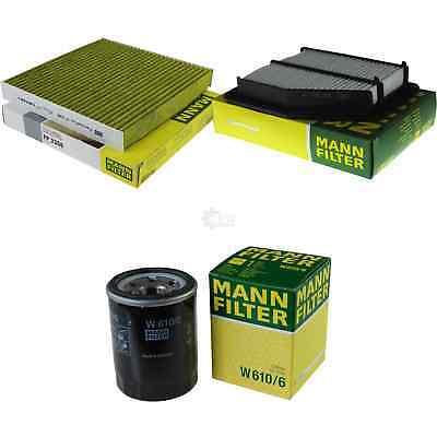 MANN Filterset Filtersatz Inspektionspaket Honda Civic VII 1.4i 1.4i S 1.6i 1.8