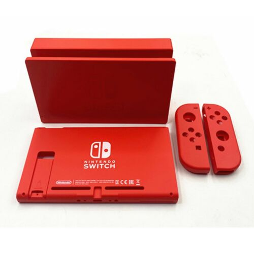 Replacement Housing Shell for Nintendo Switch Mario Red Console/Joy-con/Dock