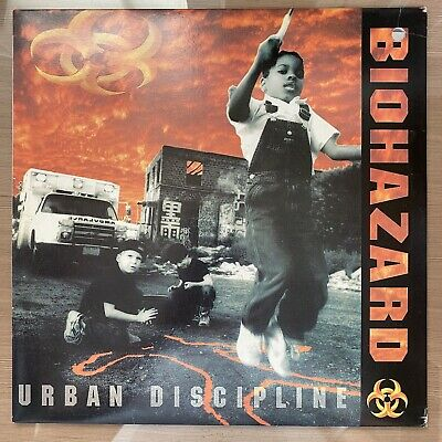 Biohazard - Urban Discipline Korea LP Vinyl With Insert 1994