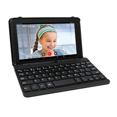 """RCA Voyager 7"""" 16GB Tablet With Keyboard Case Android 6.0 Marshmallow (Charcoal)"""
