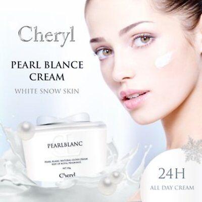 CHERYL PEARL BLANC CREAM 50g Pearl Blanc Natural Gloss Skin Tone Up Cream F/S