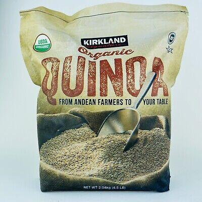 1 Paquete Kirkland Signature Orgánico Quinoa 2kg / 2kg Bolsa Grande