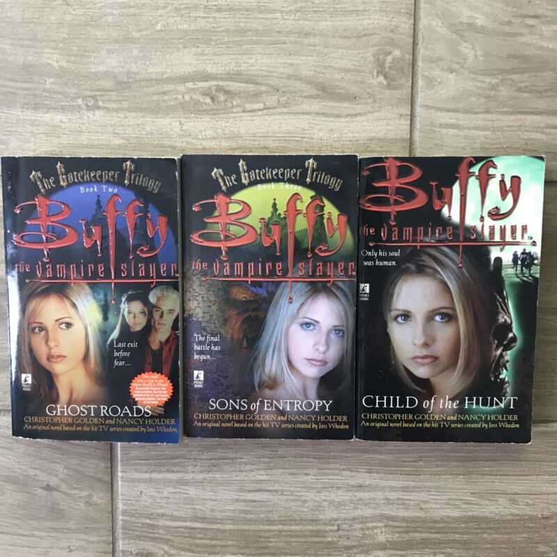 Lot of 3 Buffy The Vampire Slayer Paperback Books - The Gatekeeper Trilogy 2&3