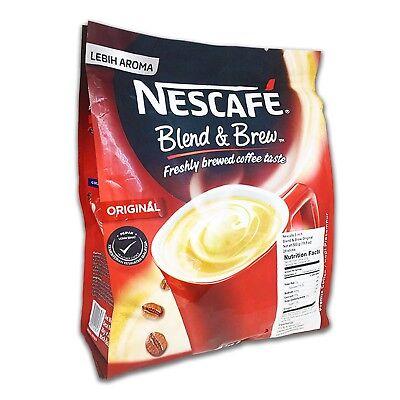 NESCAFE 3 in 1 Blend & Brew Instant Coffee, 28 sticks, FREE Priority - Nescafe Blend