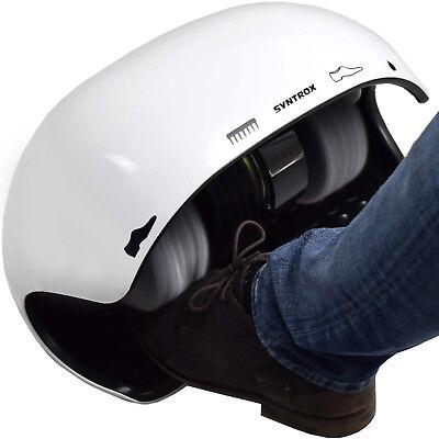 Máquina Limpiar Zapatos de Limpieza Calzado Schuhpoliermaschin Syntrox SPG-120W