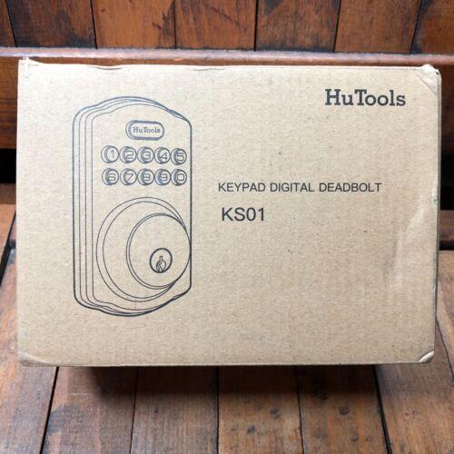 HuTools Keypad Digital Deadbolt Bronze KS01
