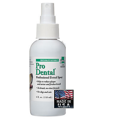 Pro DENTAL SPRAY DOG CAT PET*Clean TEETH,Freshen Mouth,REDUCE ODOR,PLAQUE&TARTER