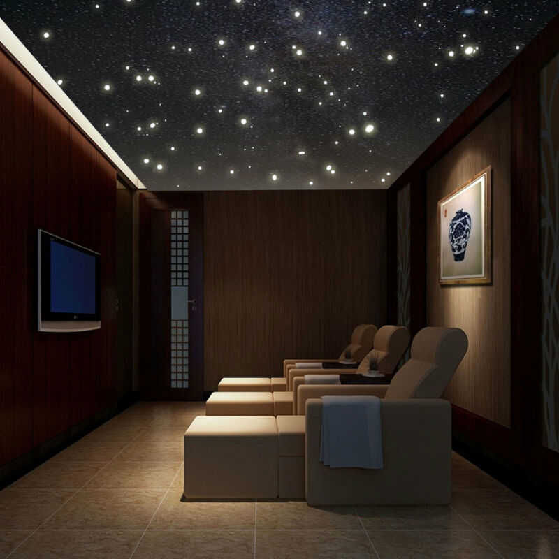 Home Decoration - 400x Luminous Glow In The Dark Star Round Dot Wall Stickers Home Ceiling Decor