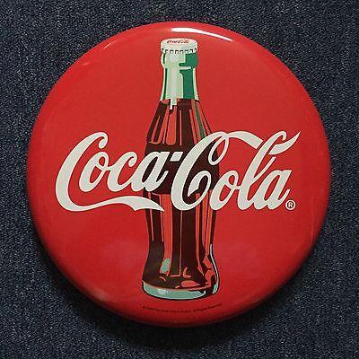 Coca Cola Schild , rund gewölbt , Neuwertig , 30 cm