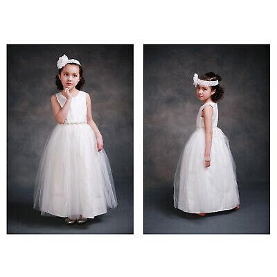 Gorgeous Flower Girl Dresses (Gorgeous Snow White Flower Girl Birthday Wedding Girl Party)