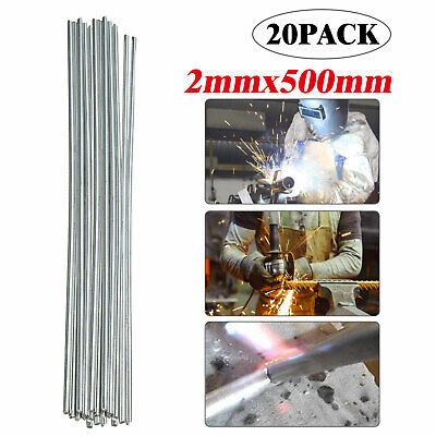 20pcs Low Temperature Aluminum Welding Solder Wire Brazing Repair Rods 2500mm