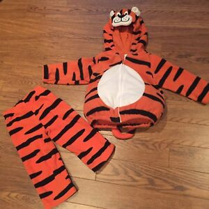 Carter's 2-piece Toddler Tiger Costume (size 24M)