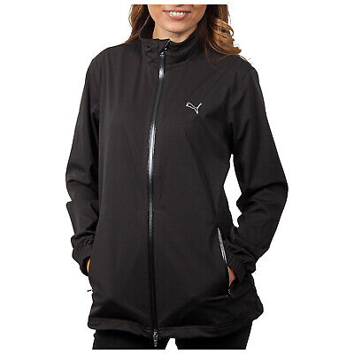 Puma Ladies Waterproof Storm Jacket Windproof Lightweight Running Walking Golf